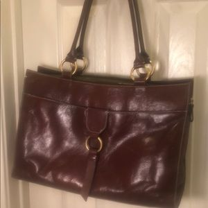 Franklin Covey Shoulder-bag, leather